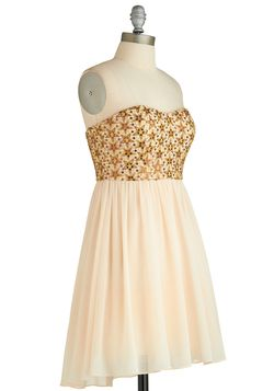 Co-Starring Debut Dress, #ModCloth