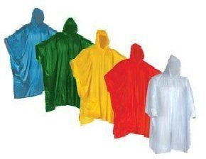 In Case A Rainy Day. Pocket 5 different colors 2 Red 2 Blue 2 White 2 Yellow 2 Green Home Perfect to Keep in Emergency Kit Wealers Poncho One Size Fit All with Hood 10 pieces in display box Backpack Office Car