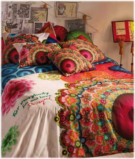 Desigual galactic fair decor i love pinterest - Desigual ropa de cama ...