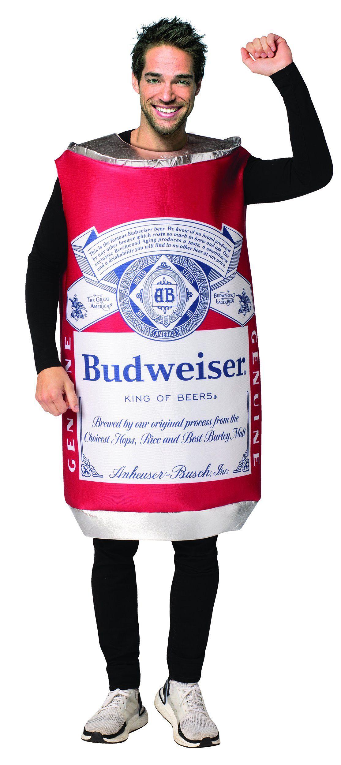 Budweiser Halloween 2020 Budweiser Vintage Can Costume in 2020   Super easy halloween