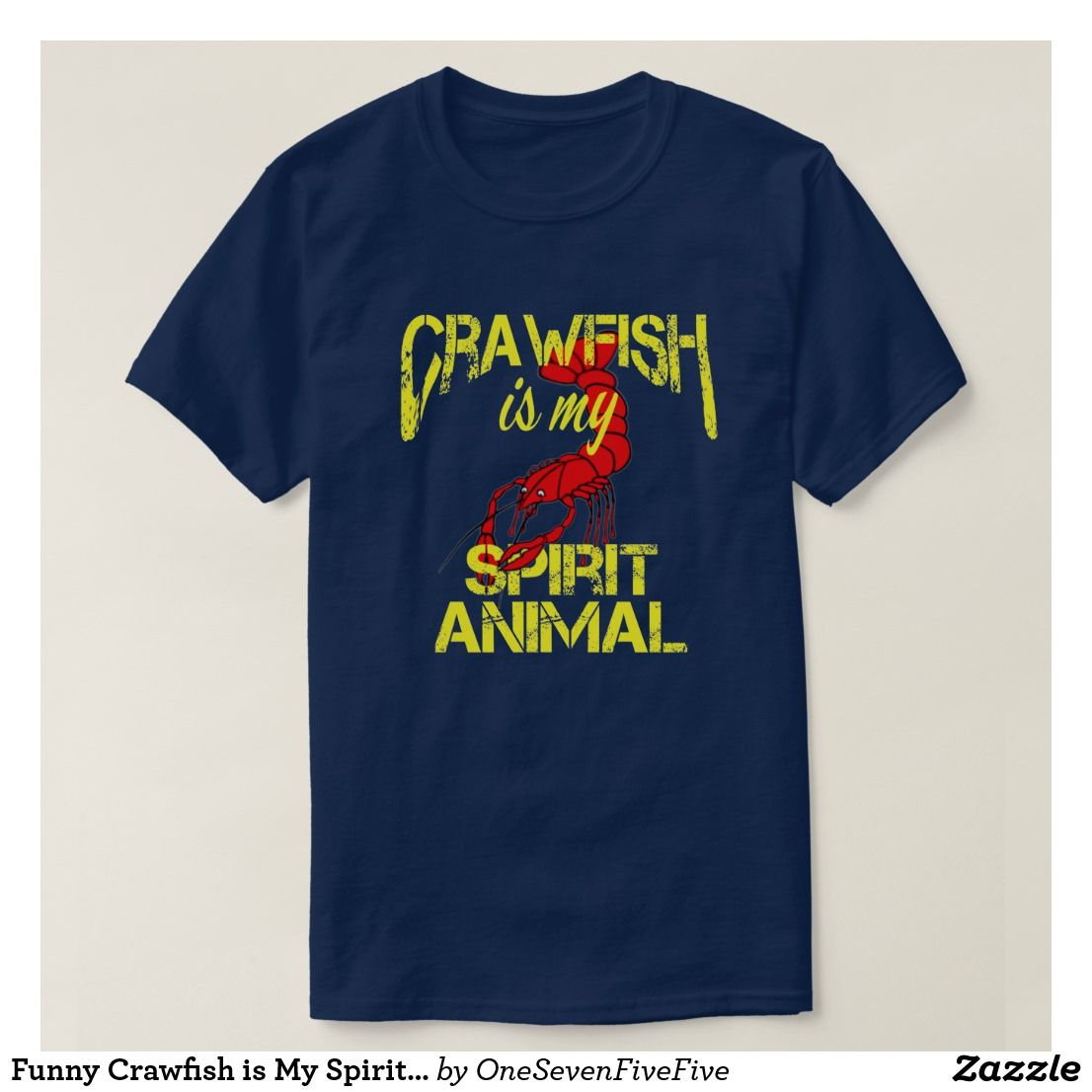 6c6869bb07 Funny Crawfish is My Spirit Animal Louisiana Cajun T-Shirt Whether you are  Louisiana born and raised, or live in Texas or Mississippi, you know there  is ...