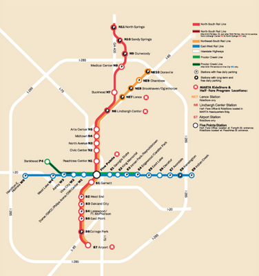 Naples Subway Map.Atlanta Metro Metro Maps Of The World Subway Map Map City Maps