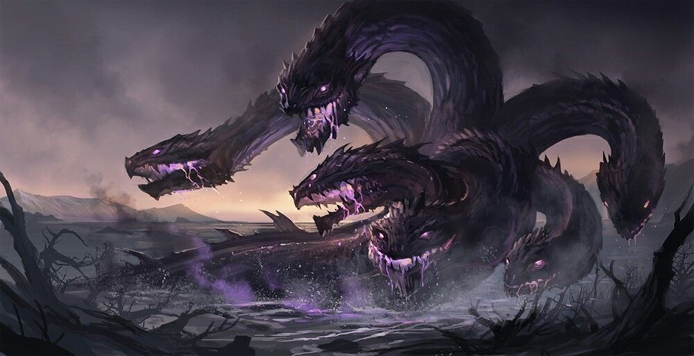 Lernaean Hydra is a legendary creature in Greek mythology ... Greek Mythology Hydra