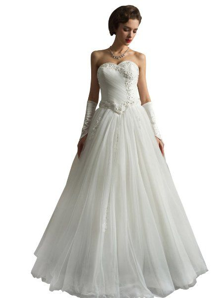 Remedios Boutique Floral Pearl Detailed Tulle A Line Wedding Dress Bridal Gown