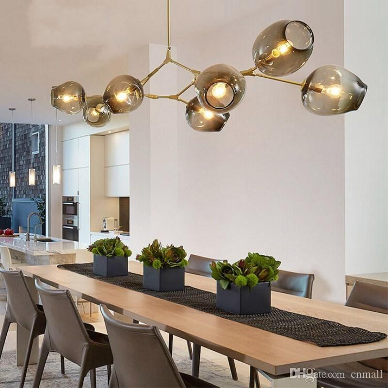 Buying lindsey adelman chandeliers lighting modern lamp novelty pendant lamp natural tree branch suspension christmas light