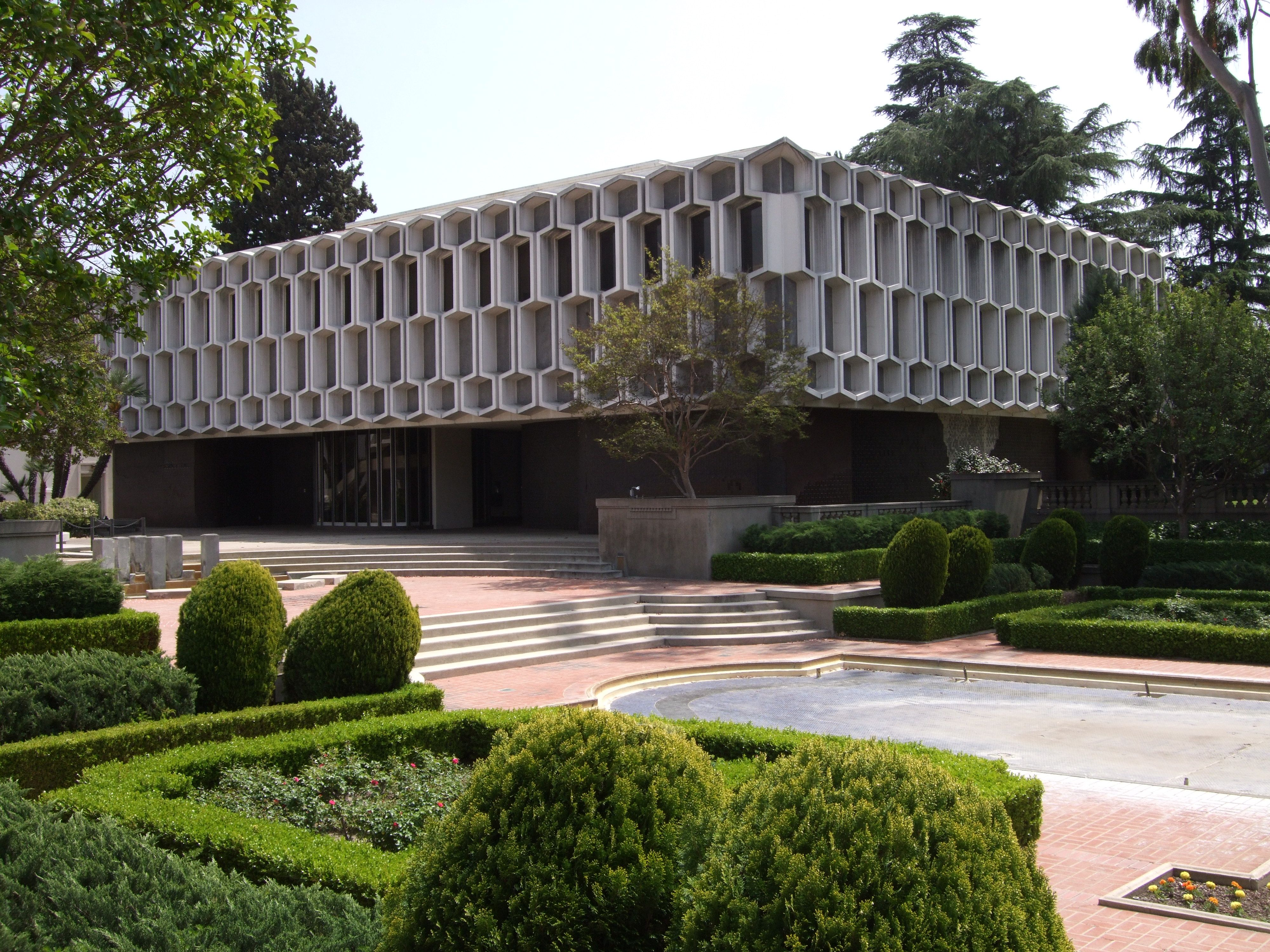 Peter J Holdstock Ambador College Fine Arts Science Building Pasadena