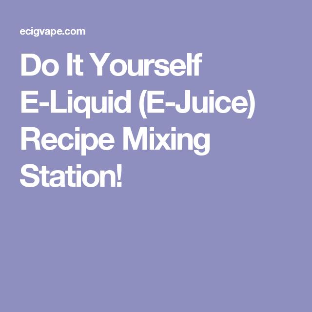 Do it yourself e liquid e juice recipe mixing station vape do it yourself e liquid e juice recipe mixing station solutioingenieria Images