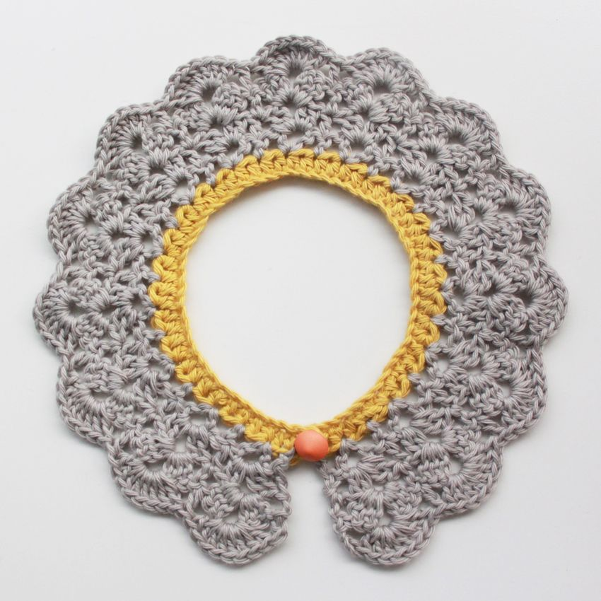 Lutter Idyl: Crochet Peter Pan Collar - with pattern in english and ...