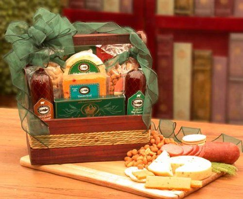 Sausage and Cheese Gift: Gourmet Sausage, Cheese & Nuts - http://www.yourgourmetgifts.com/sausage-and-cheese-gift-gourmet-sausage-cheese-nuts/