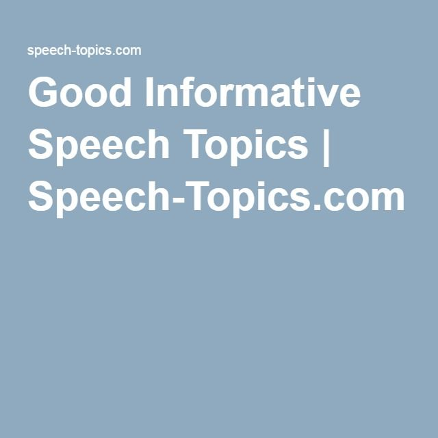 Good Informative Speech Topics  SpeechTopicsCom  Listening