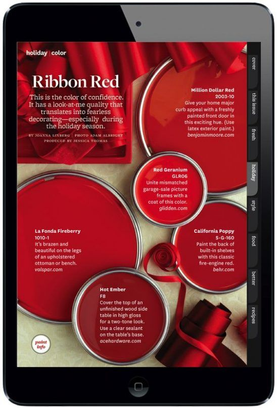 Red Paints Better Homes And Gardens Paint Colors For Home