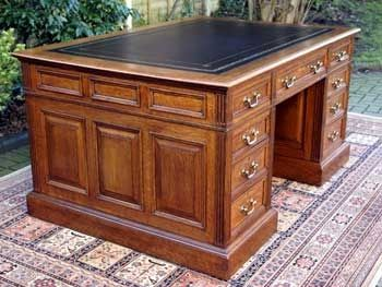 antique desks for home office. Partner Desks For Home Office | Antique Oak Partners Desk E