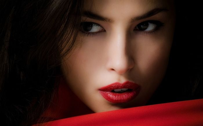 beautiful models of the world | beautiful girl red-Beauty around ...