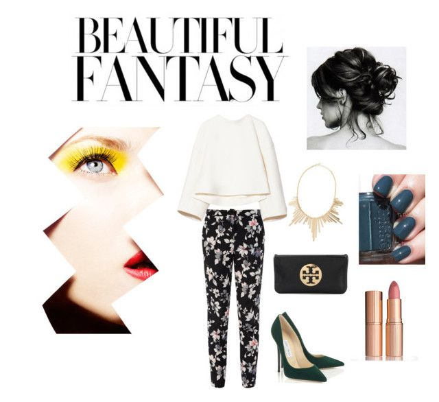#8 by maritzabella on Polyvore featuring polyvore, fashion, style, Marni, Tory Burch, Panacea and Charlotte Tilbury