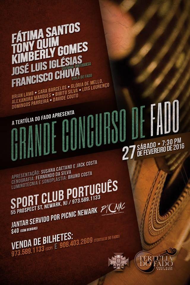 Sport Club Português - Fado é Fado ~~~~~José Luís Iglésias com Guitarra Portuguesa