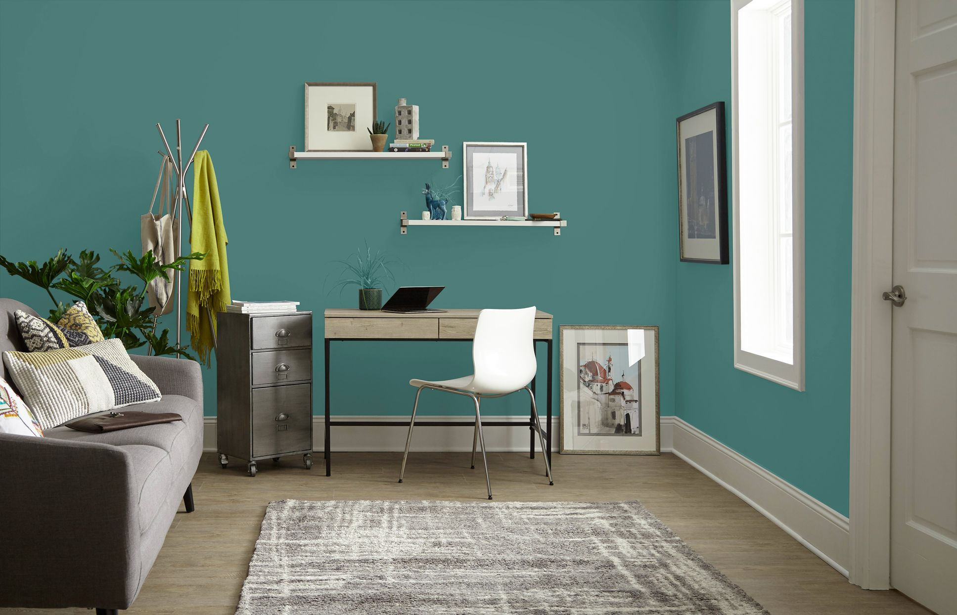 The Best Paint Colors For Your Home Office In 2020 With Images Office Wall Colors Home Office Colors Best Paint Colors