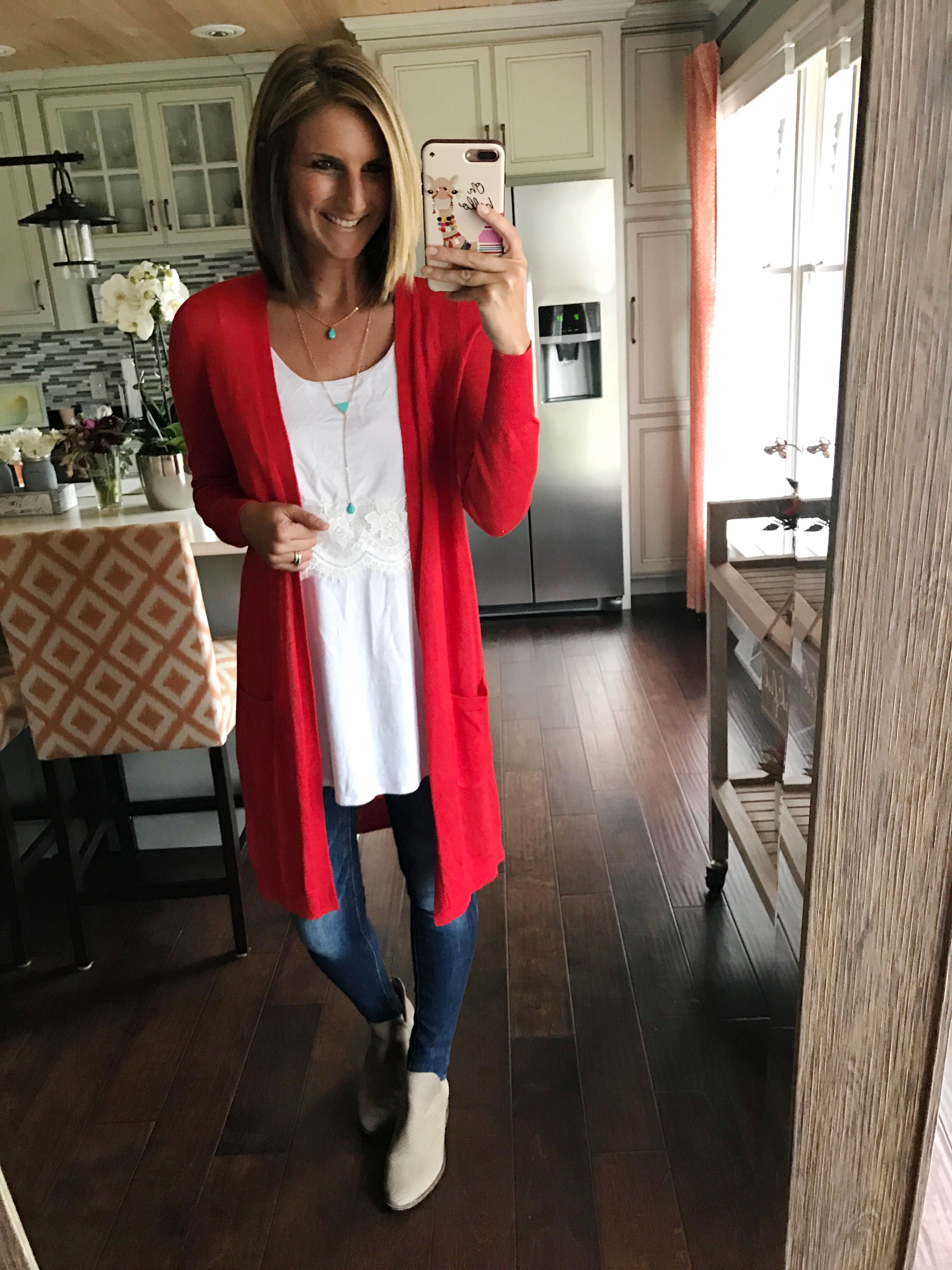 Linen cardigan - long cardigan for spring! Pair with a tank and ...