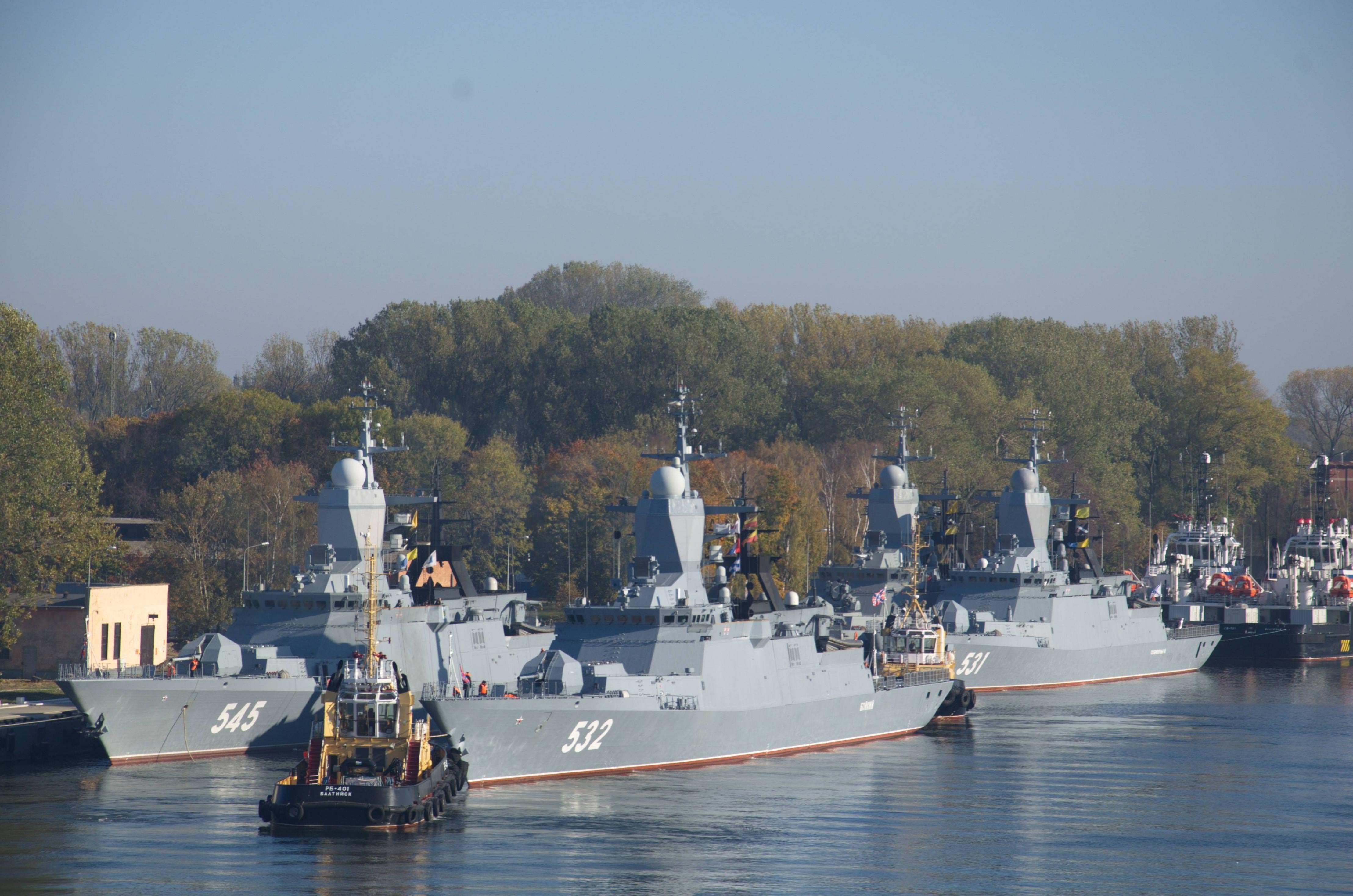 Russian Navy Steregushchy Class Corvettes 4435x2938 Navy Ships Warship Corvette