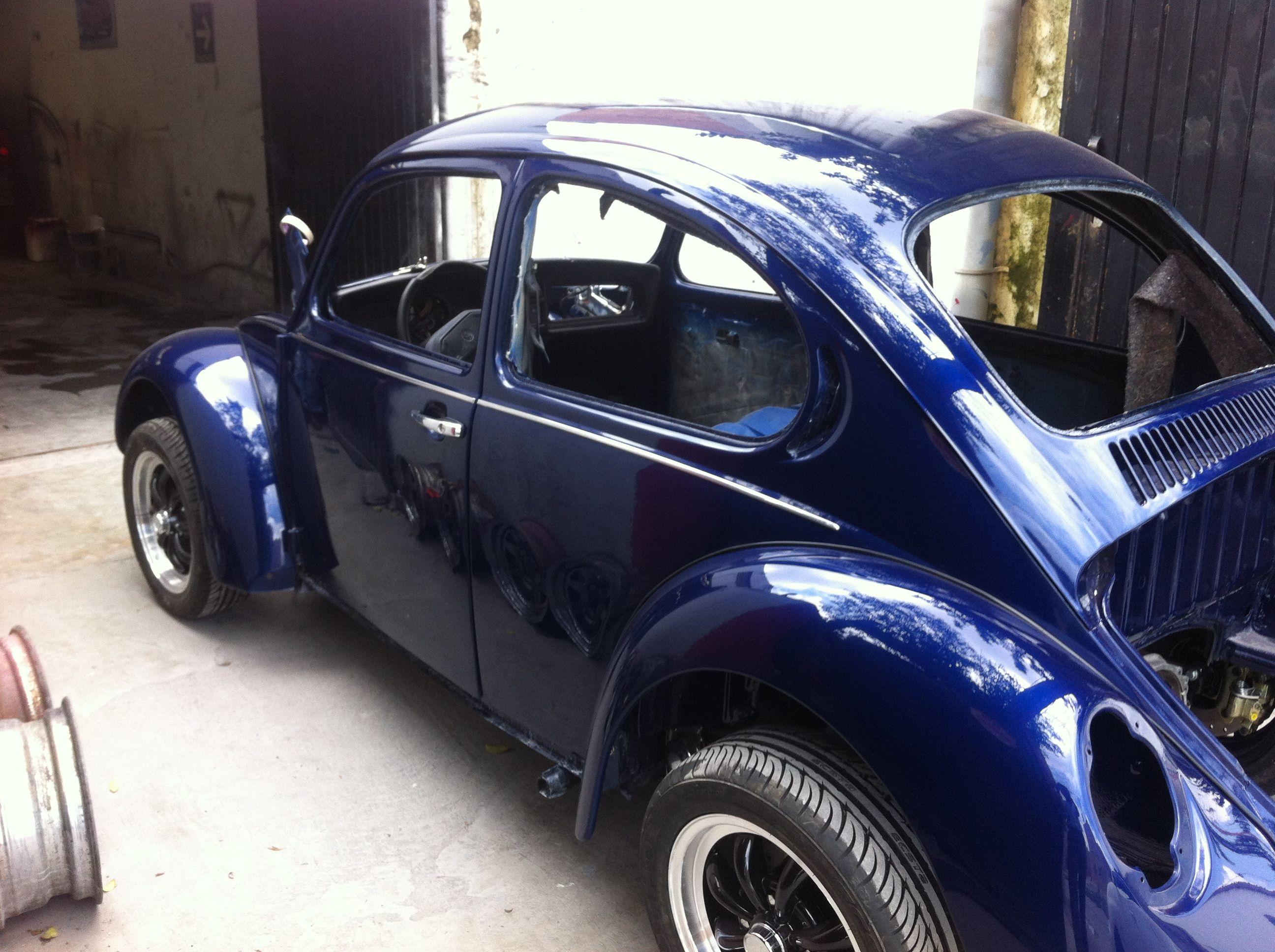 Mi Volkswagen 1994 en restauración.