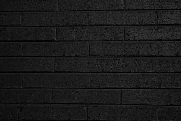 Black Painted Wall black painted brick wall texture - free high resolution photo