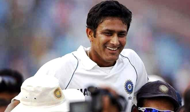 Anil Kumble picked up all ten wickets in the 2nd innings to lead India to a series leveling win over Pakistan at the Feroz Shah Kotla in Delhi. 'Jumbo'