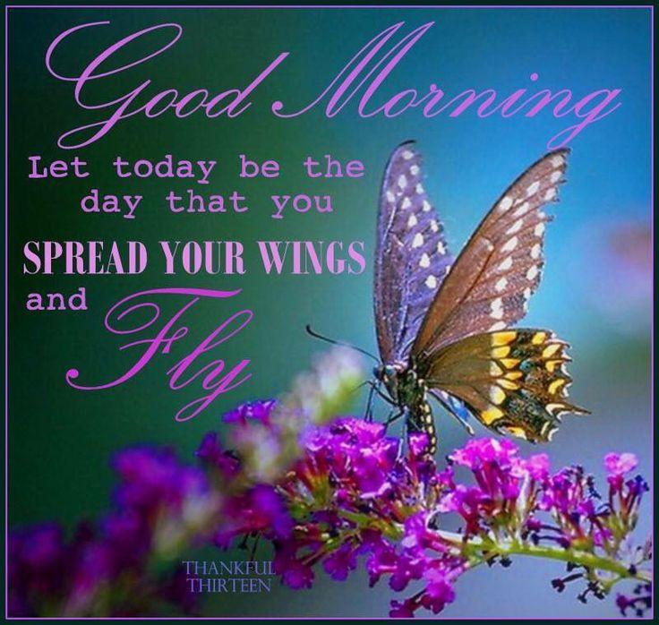 Afbeeldingsresultaat Voor Good Morning Quotes Butterflies