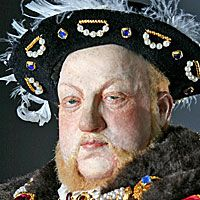 Right closup color image of Henry VIII aka. Henry VIII of England ...
