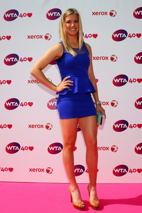 Tell eugenie bouchard hot would