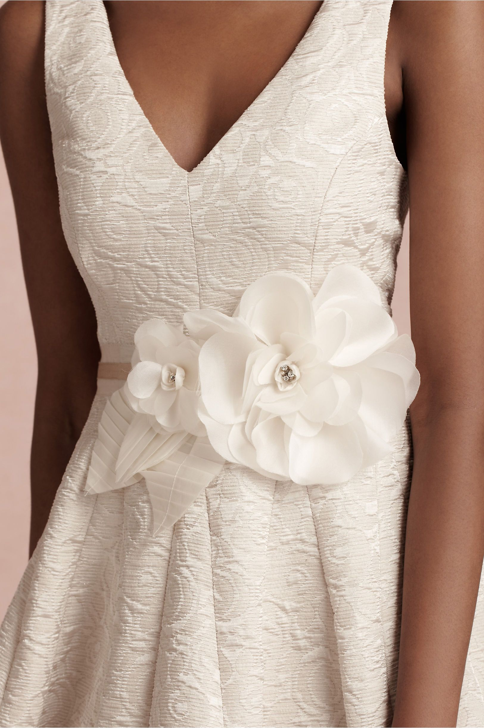 Horticultural Society Sash in SHOP Shoes & Accessories Belts at BHLDN