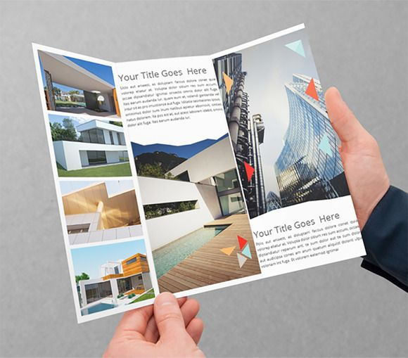 Architecture TriFold Brochure By Azadcsstune On Creativemarket