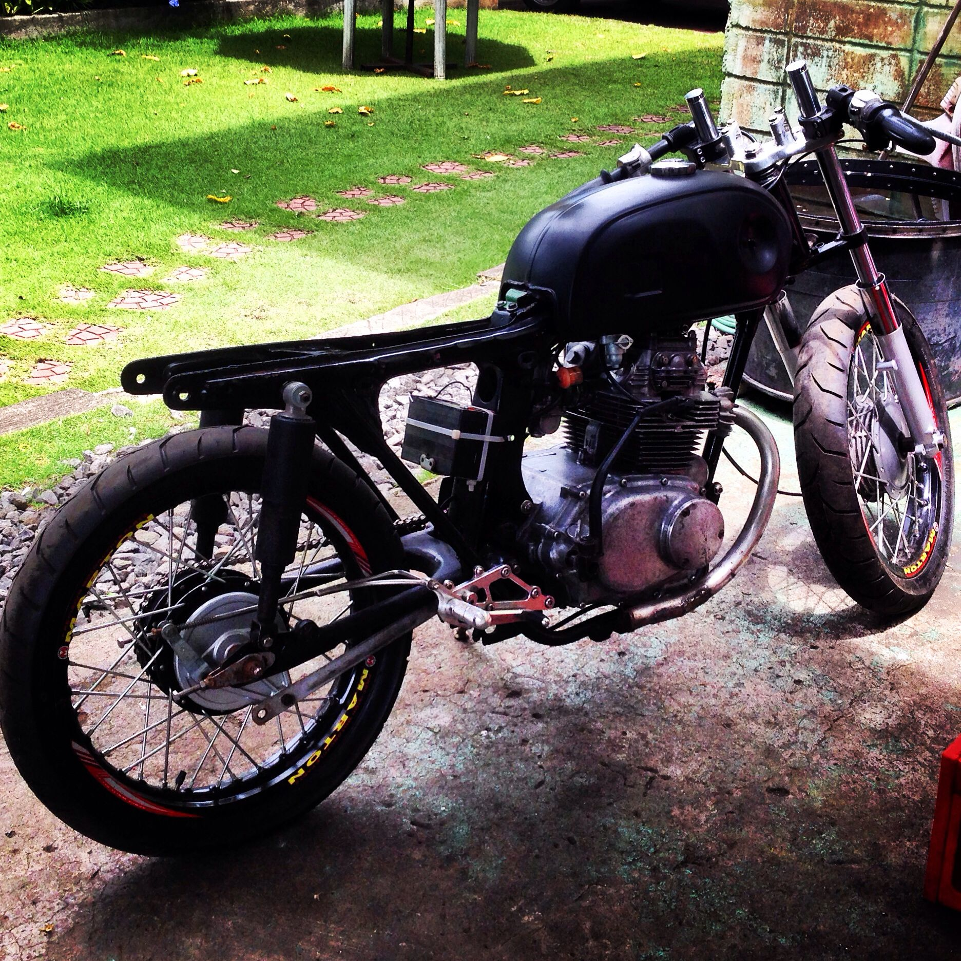 Still Tuning After 8months Cd 175 Cafe Racer