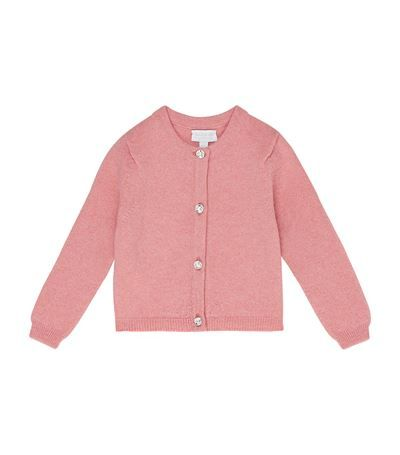 180ae57a7 Harrods of London Swarovski Button Cardigan available to buy online. Shop  children's designer fashion and earn Rewards points.