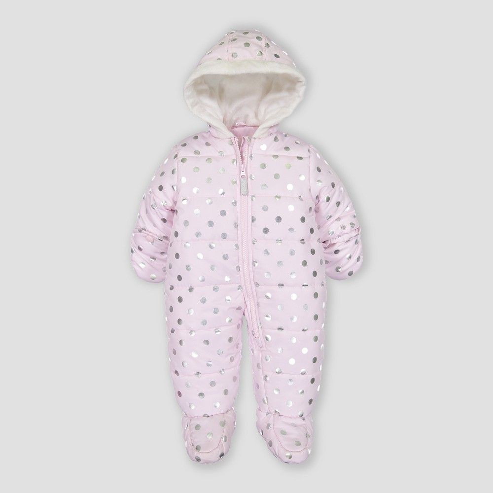 43831cd57 Baby Girls  Snowsuit - Just One You made by carter s Pink Newborn ...