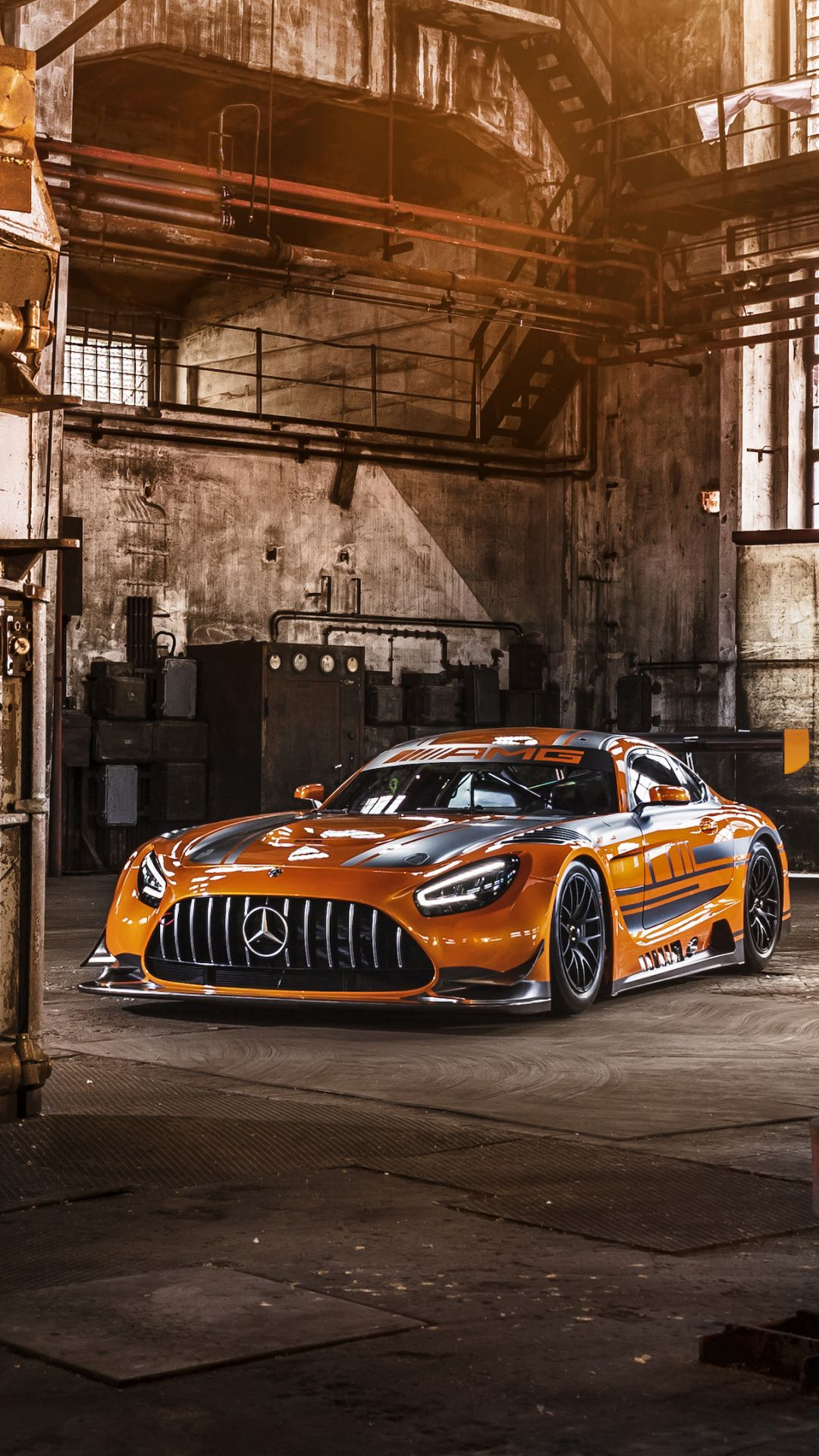 1080x1920 MercedesAMG GT3, 2019 wallpaper Mercedes amg