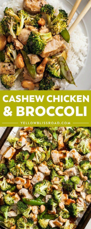 Cashew Chicken And Broccoli  Recipe  Broccoli Recipes -3143