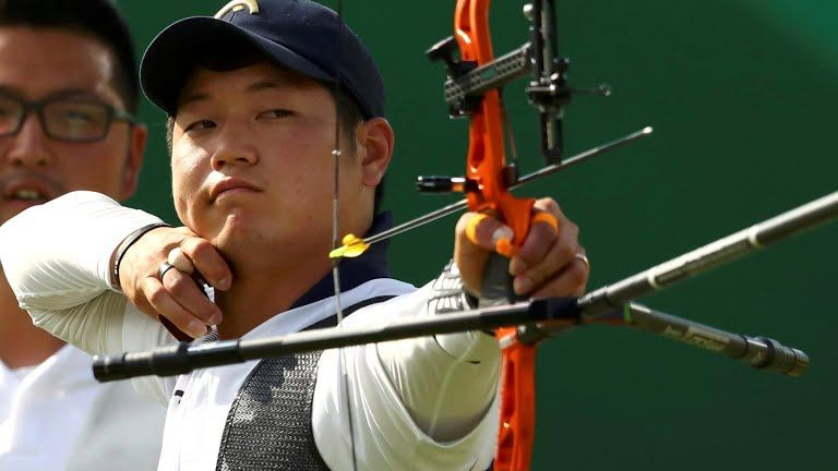 Lee Seungyun, S.Korea, gold medal, archery team