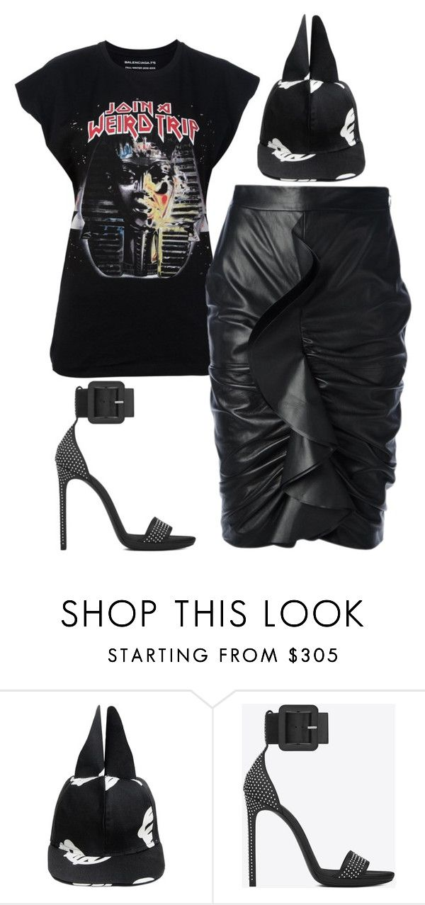 """Untitled #5937"" by stylistbyair ❤ liked on Polyvore featuring Givenchy, VIVETTA and Yves Saint Laurent"