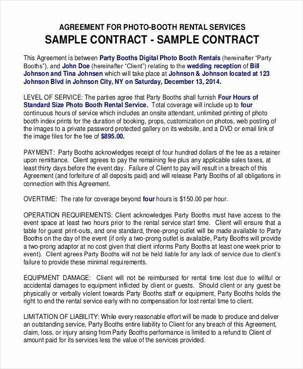 Hair Stylist Contract For Wedding Pin On Example Wedding Template Program Contract Template Rental Agreement Templates Portfolio Template Design