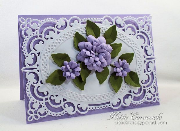 Handmade paper flowers with die cuts cards pinterest flower card making ideas paper crafts handmade greeting cards flower cards click on the picture if you would like to learn how to make handmade paper m4hsunfo