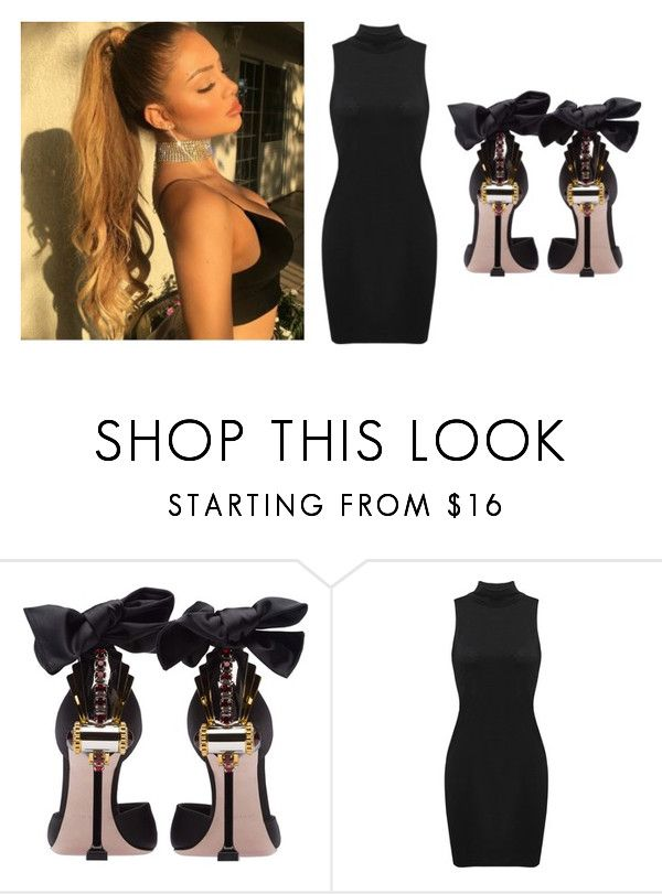 """""""Untitled #589"""" by katelyn-style ❤ liked on Polyvore featuring Miu Miu"""