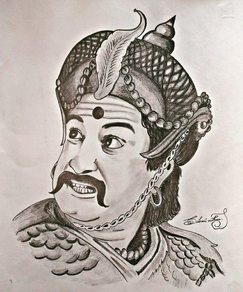 My sketch of tamil legend shivaji ganeshan pencil sketchs in 2019