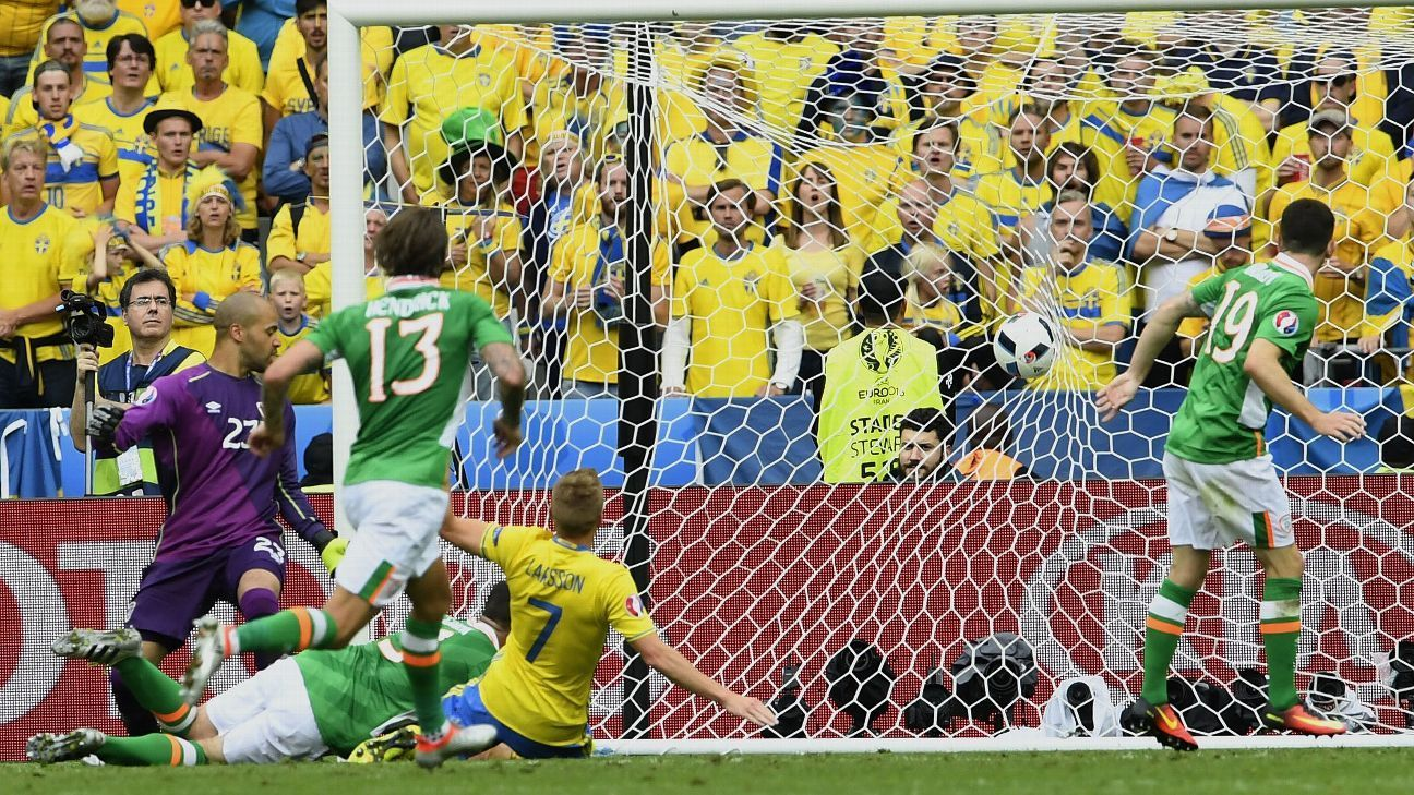 Ciaran Clark own goal gives Sweden 11 draw with Ireland