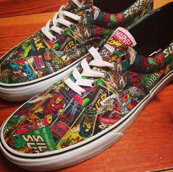 Marvel Comics x Vans Era Fall 2013
