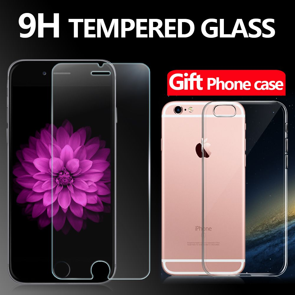 Premium Tempered Glass Screen Protector For Iphone 6 6s 47 Full Cover Xiaomi Mi5s White Iphone6 Film 1case Not Edge