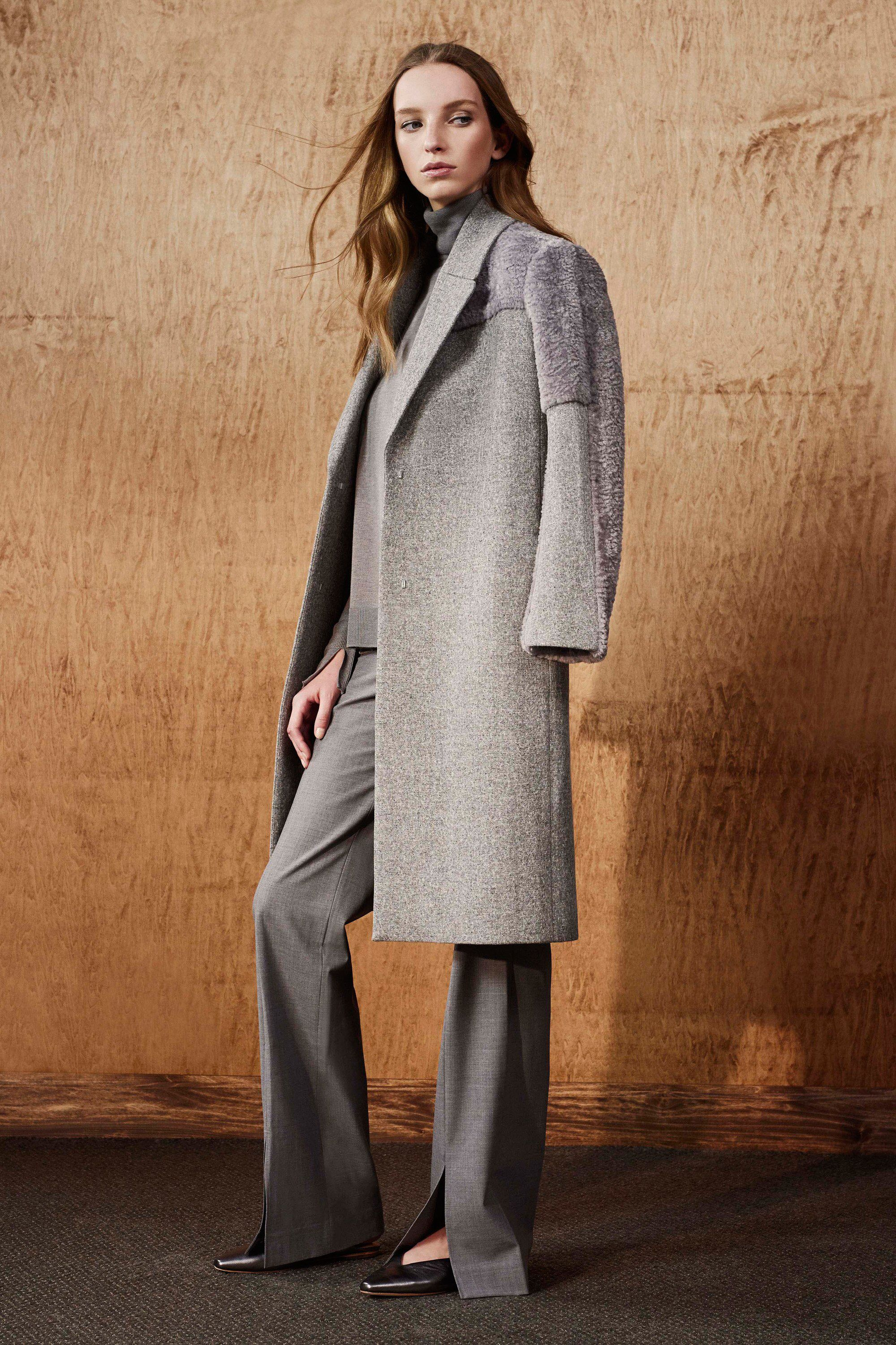 Halston Heritage Fall 2017 Ready-to-Wear collection.