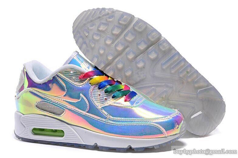Nike Air Max 90 Shoes Premium Mirror AS Iridescent