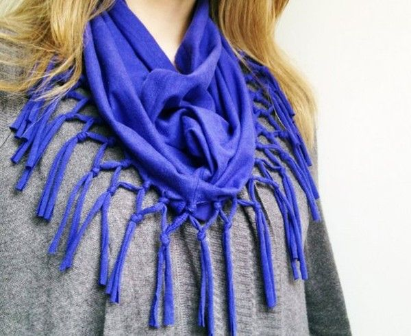 diy fashion t shirt scarf shirt scarves diy fashion and