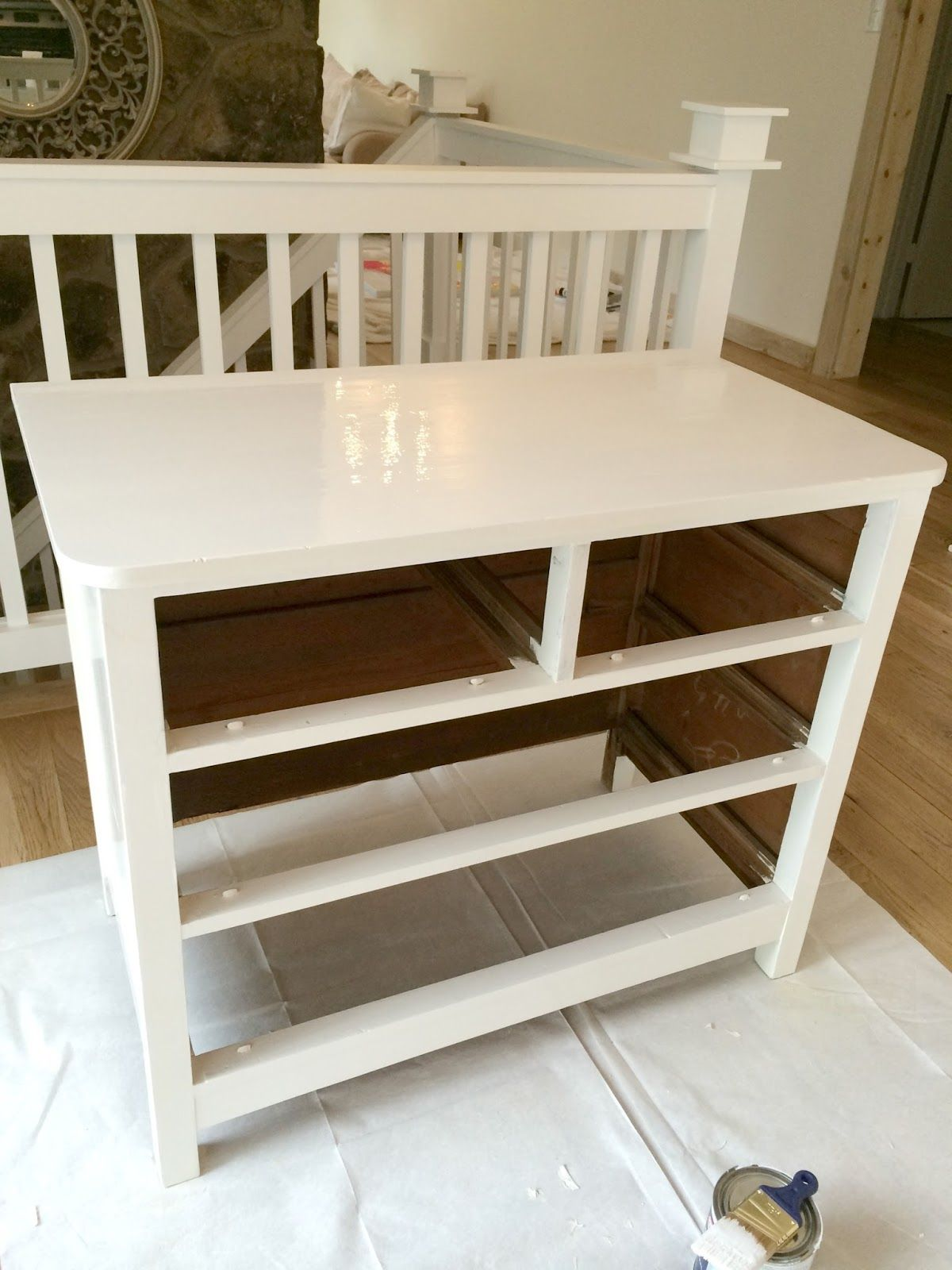How To Paint Furniture The Easy Way High Gloss Furniture
