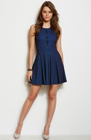 Armani Exchange Online Store | Clothing & Accessories for Men and Women. Fit  Flare DressDress ...