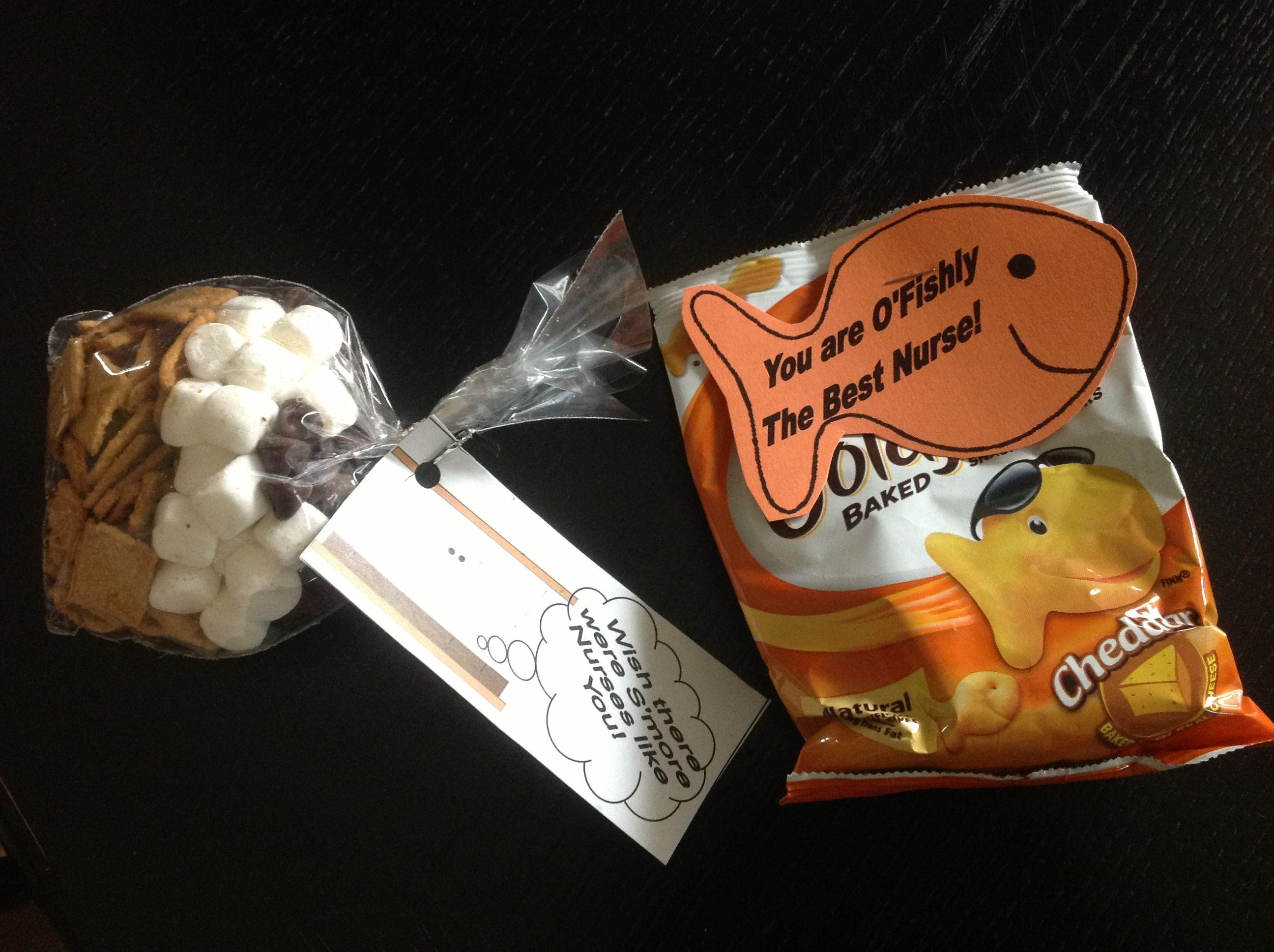 Nurses week snacks diy crafts pinterest nurses for Gift ideas for assistants